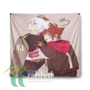 Kingdom Hearts Tapestry Wall Decor Custom Prints